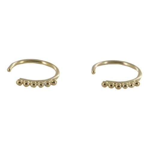 E816 Gold REBELLION EARRING Dotted Ring Earring 34,95 euro