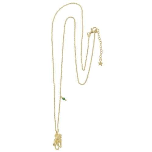 N835 Gold REBELLION NECKLACE Monkey Necklace 79,95 euro