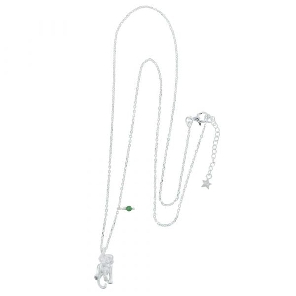 N835 Silver REBELLION NECKLACE Monkey Necklace 69,95 euro
