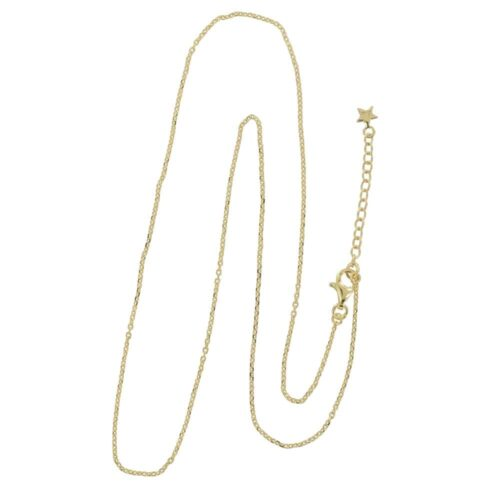 N842 Gold REBELLION NECKLACE Plain Short Necklace 49,95 euro