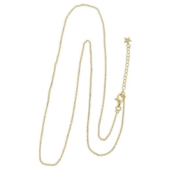 N842 Gold REBELLION NECKLACE Plain Short Necklace 49,95 euro