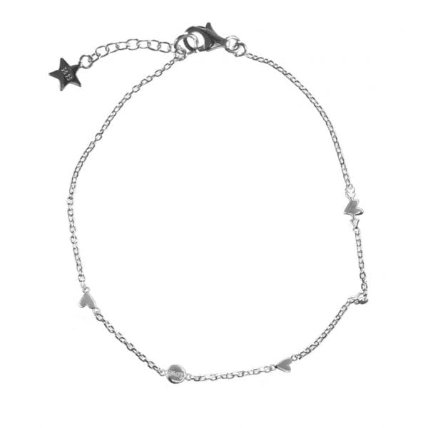 B874 Silver BONJOUR PARIS BRACELET Charms A Lot Of Love Bracelet Silver 49,95 euro