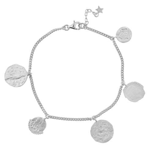 B910a Silver BRACELET Coins Bracelet Silver 69,95 euro