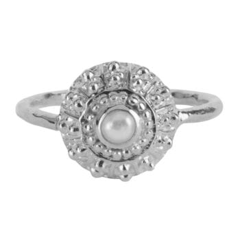 R907 Silver RING Antique Pearl Ring Silver 44,95 euro