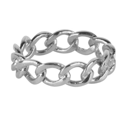 R924 Silver RING Big Open Chain Ring Silver 49,95 euro