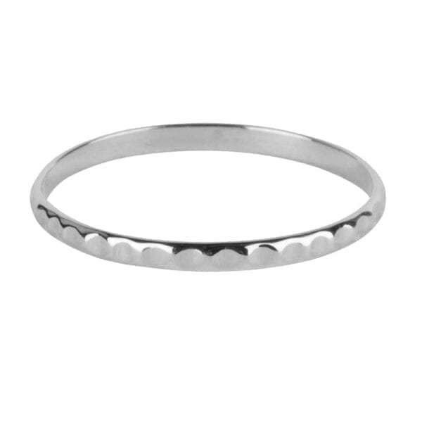 R925 Silver RING Fine Dented Ring Silver 29,95 euro