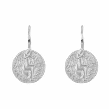 E962 Silver EARRING Angel Hook Earring Silver 39,95 euro