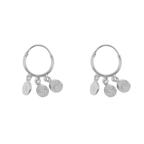 E976 Silver EARRING Small Hoop I love You Earring Silver 39,95 euro