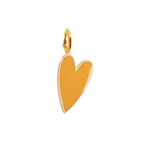 Rock Charm OKER Heart ROCK CHARMS - TH-C981 Gold OKER