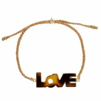 B2012 Gold Plated BRACELET Tiger Resin Love Rope Bracelet Gold Plated 59,95 euro