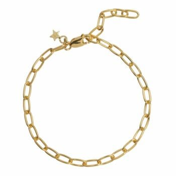 B2029 Gold Plated BRACELET Big Chain Bracelet Gold Plated (18 cm) 69,95 euro