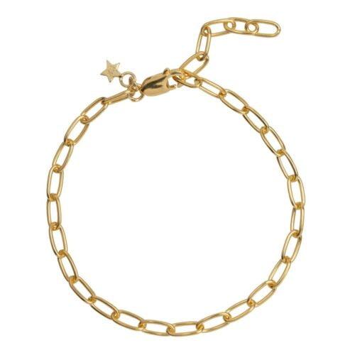 B2029 Gold Plated BRACELET Big Chain Bracelet Gold Plated (18 cm) 69,95 euro