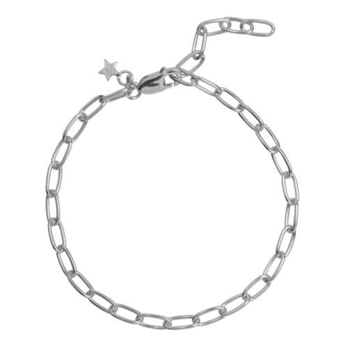 B2029 Silver BRACELET Big Chain Bracelet Silver (18 cm) 59,95 euro