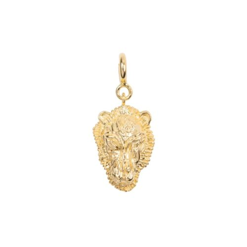 C2030 Gold Plated CHARM Lion Bead Gold Plated 29,95 euro