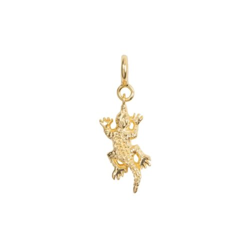 C2033 Gold Plated CHARM Croco Bead Gold Plated 29,95 euro