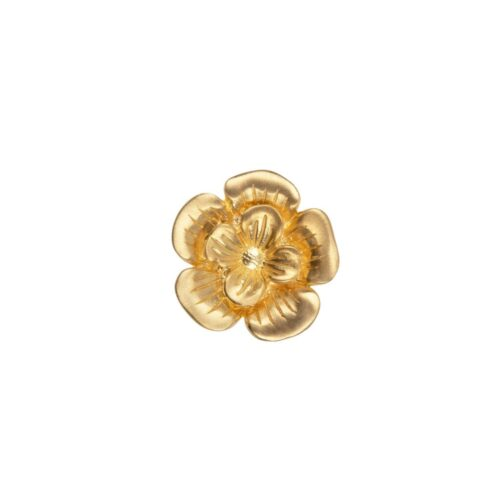 E2009 Gold Plated EARRING Poppy Flower Stud Earring Gold Plated (SINGLE PIECE) 44,95 euro