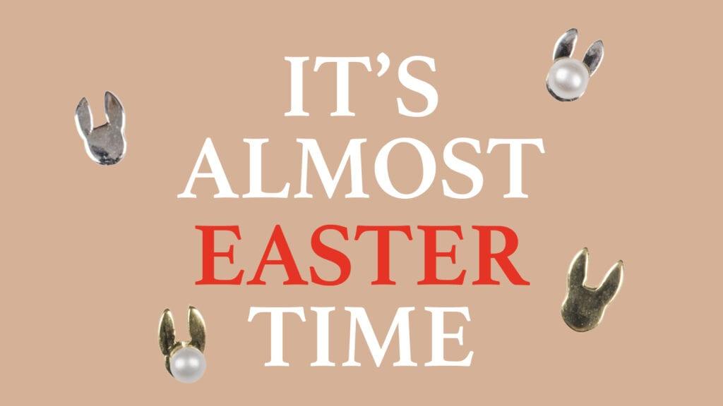 Om de Paasdagen (en ook daarna) een feestelijk tintje te geven, ontvang je bij elke bestelling die geplaatst wordt tot en met tweede Paasdag van ons een paar Bunnies cadeau