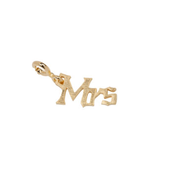 TH-C2004 Gold Rock Charm MRS