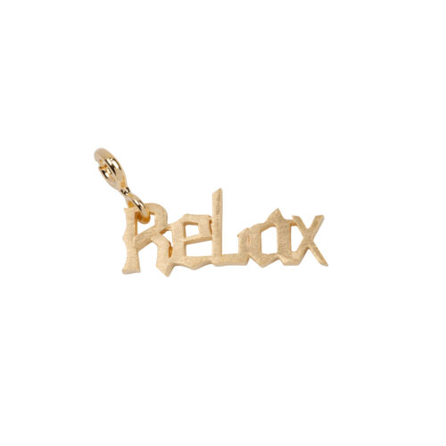 TH-C2009 Gold Rock Charm RELAX