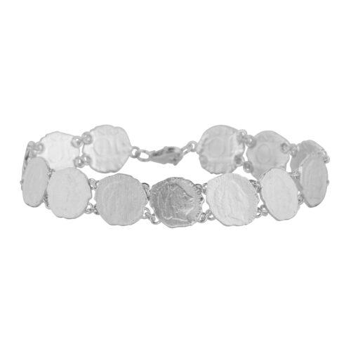 B2059 Silver Ten Cent In a Row Bracelet Silver 139,95