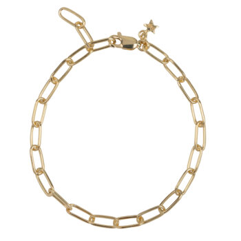 B2060 Gold Bigger Chain Bracelet Gold Plated 79,95
