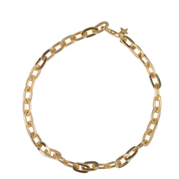 B2069 Gold Chunky Chain Bracelet Gold Plated 99,95