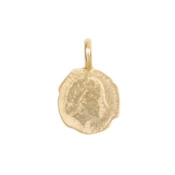 C2061b Gold Charm Ten Cent Gold Plated 29,95