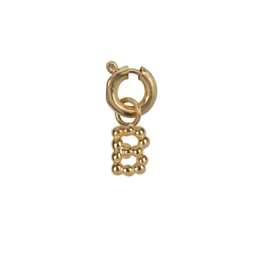 C2084 Gold Letter B Charm B Gold Plated 14,95