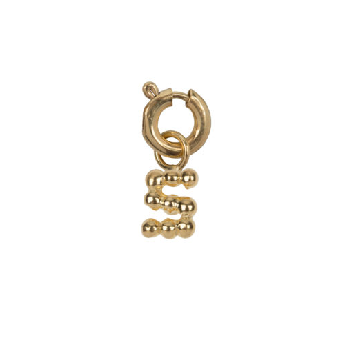 C2084 Gold Letter S Charm S Gold Plated 14,95