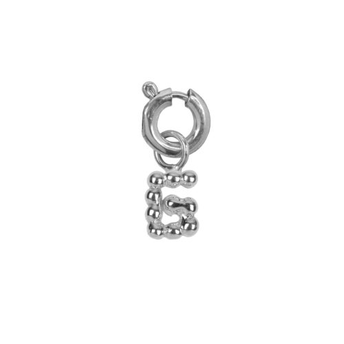 C2084 Silver Letter G Charm G Silver 12,95