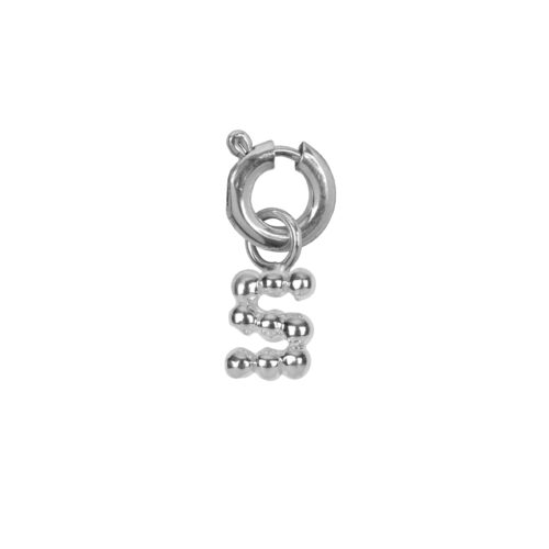 C2084 Silver Letter S Charm S Silver 12,95