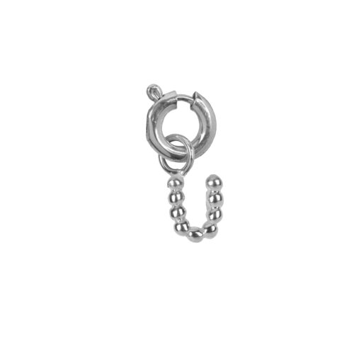C2084 Silver Letter U Charm U Silver 12,95