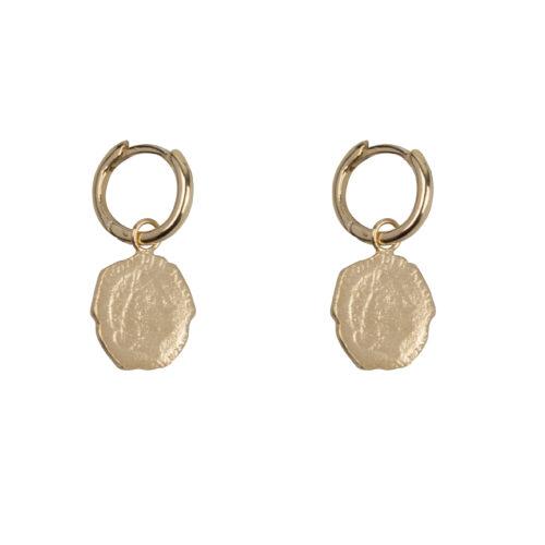 E2059 Gold Ten Cent Small Hoop Earring Gold Plated 44,95