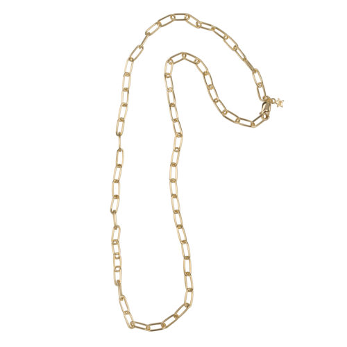 N2060 Gold Bigger Chain Necklace Gold 109,95