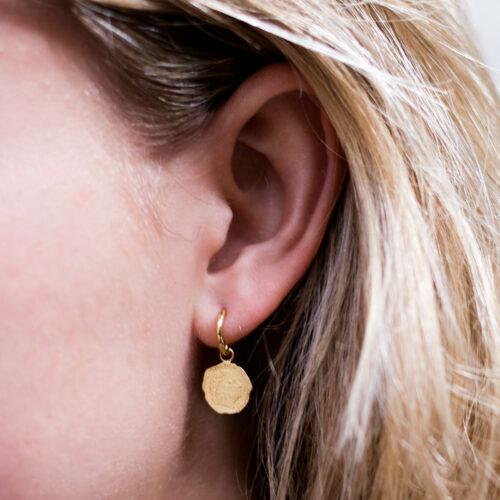 Ten Cent Small Hoop Earring