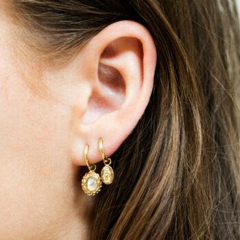Mini Maria Small Hoop Earring